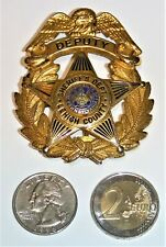 Commonwealth of Pennsylvania Lehigh County Sheriff's Dept Deputy Obsolete Badge