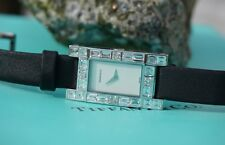 Tiffany & Co. Lucida Diamond & 18kt White Gold Cocktail Watch, ALL Boxes, 4.75ct