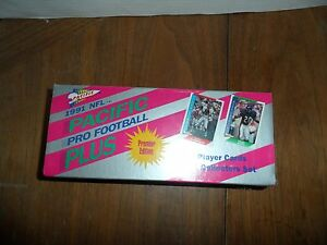 1991 Pacific Pro Football Plus_Factory Set