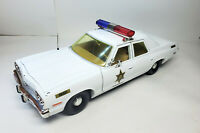 1974 Dukes of Hazzard Roscoe's Sheriff Police Car scale 1 1:18 DIECAST MODEL