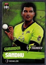 Single-Parallel Cricket Trading Cards