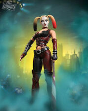 DC: Batman Arkham City series 1: HARLEY QUINN figure - RARE