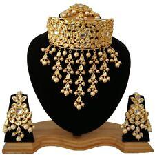 Admirable Meena Kundan Wedding Designer Choker Necklace Jewelry Collection Sets