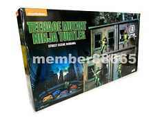 Brand New NECA SDCC 2018 Teenage Mutant Ninja Turtles TMNT Street Scene Diorama
