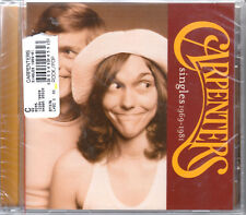 CARPENTERS - SINGLES 1969-1981 CD NEW & SEALED