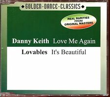 DANNY KEITH (LOVE ME AGAIN) LOVABLES (IT'S BEAUTIFUL) ITALO DISCO CD MAXI [2029]