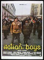 Werbeplakat Italian Boys Umberto Smaila Obed Army Bersaglieri Soldat M27