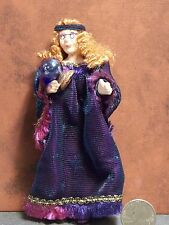 Dollhouse Miniature Halloween Fortune Teller Doll 1:12 scale D61 Dollys Gallery