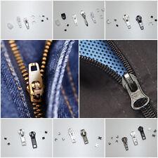 Reißverschluss Reparatur Set + Anleitung | Schieber Stoppteil Verbinder Zipper
