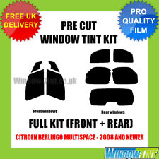 CITROEN BERLINGO Multispace 2008 Full Pre Cut Window Tint Kit