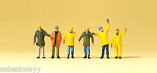 Preiser 75030 Workers in protective clothing, TT