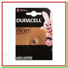 Batteria Pila DURACELL 376 377 SR66 SR626SW SR626 RW329 606 SB-AW 280-39 KS BA