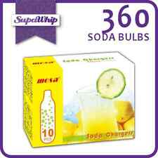 MOSA SODA BULBS - 10 PACK X 36 (360 CHARGERS) - PURE CARBON DIOXIDE CO2