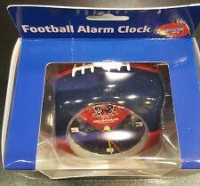 AFL MELBOURNE DEMONS FOOTBALL ALARM CLOCK  BRAND NEW