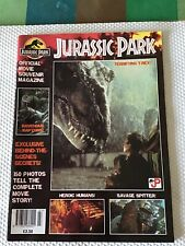 JURASSIC PARK 1993 - OFFICIAL MOVIE SOUVENIR- FIRST PRESS