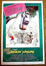 "GARY BUSEY, EDDIE ALBERT, CLORIS LEACHMAN, TONY RANDALL - poster 27x41 -- ""FOOLI"