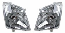 Pair of Headlights for Holden Rodeo RA 01/07-09/08 New Head lamps DX/LX