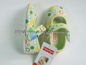 54% OFF AUTH FISHER PRICE BABY GIRL'S SHOES IDA SZ 3 / 6-12 mos BNEW IN BOX