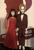 SALE! Beetlejuice And Lydia Wedding Set Of 2 CUSTOM HORROR DOLLS OOAK