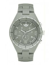 NEW ADIDAS SPECTATOR CHRONO ACRYLIC GREY WATCH ADH2522