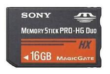 Memory Stick Mémoire Carte Pro Duo MAGICGATE 16G MS-HX 16GB Pour Sony PSP Camera