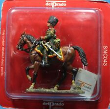 Del Prado Tin toy soldiers 1/32 SNC043 Officer, French Chasseurs A Cheval, 1809