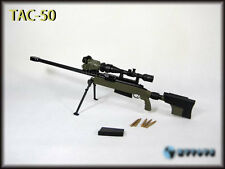 """1/6 scale US US TAC-50 Sniper Rifle Green for 12"""" Action Figure"""