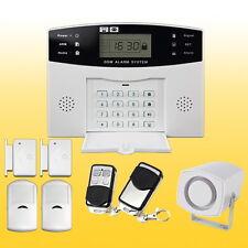 LCD GSM Security Wireles Autodial Home House Office Burglar Intruder Alarm UK
