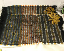 New listing 2 Woven Placemats Natural Colors, Made In India, World Market, Unique , 13 X 19