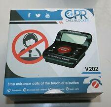 Cpr Call Blocker V202 Telemarketer & Robo Calls 1000 Number Block Capacity