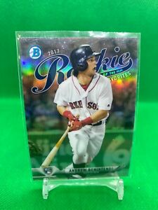 2017 Bowman Chrome Inserts Pick Your Card Finish Your Set