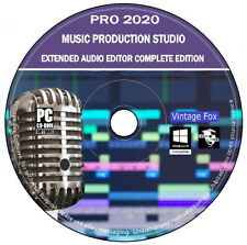 Music Production Studio Multi-Track Audio Editor Recorder Mixer Extended Edition