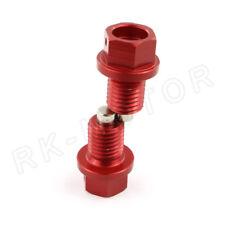2pcs Billet Magnetic Oil Drain Plug Bolts For Honda CR125R 250R 2002-2007 03 04