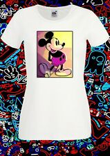 Pop Art Rock Punk Retro Vintage cult Mickey Comic T Shirt INISHED Productions