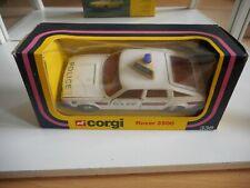 Corgi Rover 3500 Police in White in Box (338)