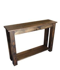 Yukon Sofa Table (Entry Table, End Table, Foyer Table)