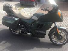 BMW K100LT Motorrad mit 57830 Km und TÜV 09/19 Metallicfarben mit Seitenkoffer