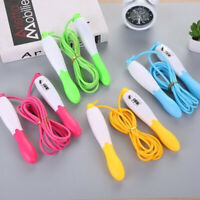 Skipping Jump Rope With Counter Gym Exercise Adjustable Bearing Speed Fitness