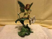 Emerald Isle Irish garden Fairy Figurine - Bradford Exchange Enchanted Wings
