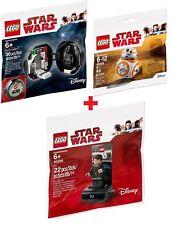 LEGO® POLYBAG SW 40288 BB-8 + 40298 DJ Code Breaker + 5005376 Darth Vader Pod