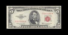 "1953-B UNITED STATES NOTE FIVE DOLLARS $5 ""C"" (( aUNC ))"