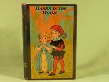 Vintage Babes In The Wood Moneybox Tin Book Shaped