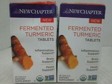 2 NEWCHAPTER FERMENTED TUMERIC INFLAMMATION/BRAIN/HEART SUPPORT 6/20 CT 3045