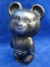 FIGURINE - MASCOTTE OLYMPIQUE / Olympic mascot - 1980 MISHA - OURS / Bear - RARE
