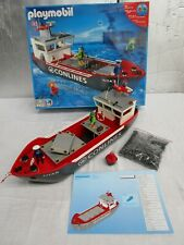 Vintage Playmobile Nº 4472 buque de carga, En Caja.. poco común
