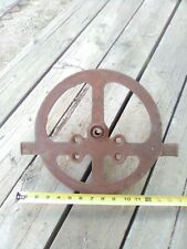 New listing Vintage Large an 1800's wagon steampunk cast iron Industrial Age repurpose Art