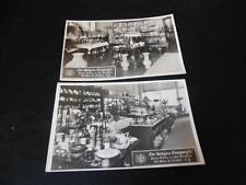 Vintage Lot Lodgins Hodgins Company Silver China Art Novelties Buffalo NY RPPC
