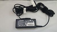 Genuine Toshiba Laptop Charger AC Power Adapter PA3917U-1ACA G71C000DP410 65W