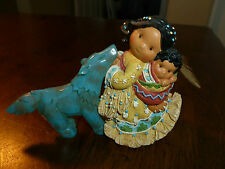 Friends Of The Feather Figurine - Little One to Lean On - 1996 Enesco - Hahn