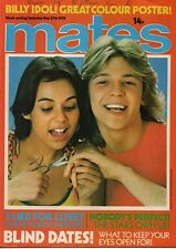 Mates Magazine 27 May 1978    Keith Atack of Child     Billy Idol     Bjorn Borg